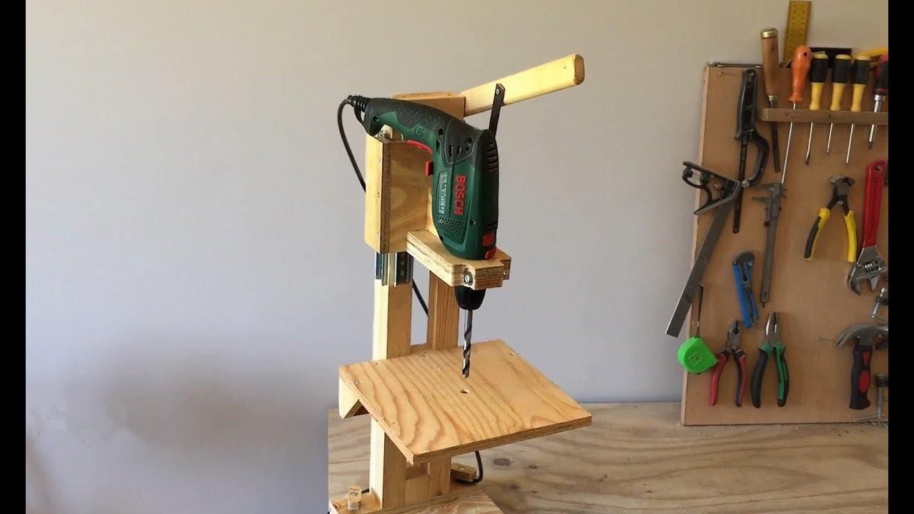 4 In 1 Drill Press Build Pt1 The Drill Press 4 In 1