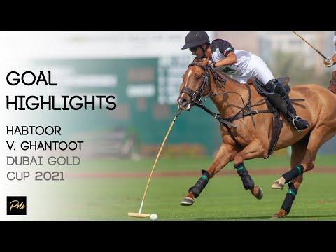 Ghantoot Polo vs Habtoor Polo | Best Goals Gold Cup 2021 | Dubai Polo Season