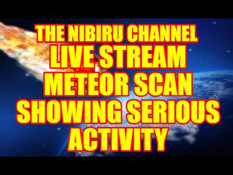 "PLANET X NEWS - ""LIVE STREAM"" ☀ METEOR SCAN SHOWING SERIOUS ACTIVITY ☀JUNE 13TH 2017"
