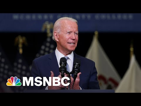 Biden Calls For Investments In 'Human Infrastructure'