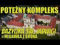 #Migawka #Bazylika św. Jadwigi w Legnickim Polu z drona z lotu ptaka