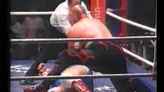 Catchen/Wrestling Otto Wanz vs Bull Power (Vader) Bremen 22.12.89 CWA-HW-TM