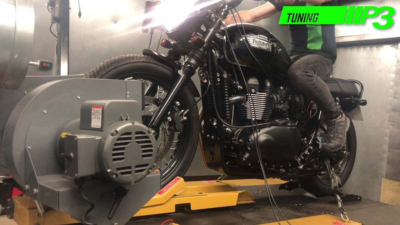 Triumph T100 Bonneville Dynojet Power Commander Ignition And Fuel