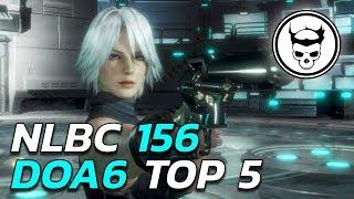 Dead or Alive 6 Tournament - Top 5 Finals - NLBC 156 (TIMESTAMPS)