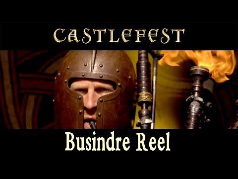 Busindre Reel from Hevia - Celtic music live performance @ Castlefest