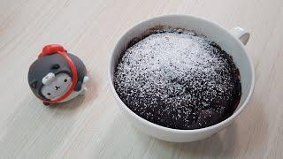 전자레인지 1분! 누텔라 초코 컵케이크 :: Nutel…