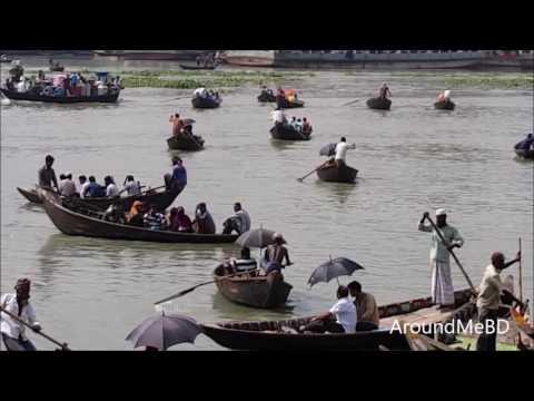 Sadar Ghat | Buri Ganga River | Beautiful Boat | Beauty of River Dhaka Bangladesh