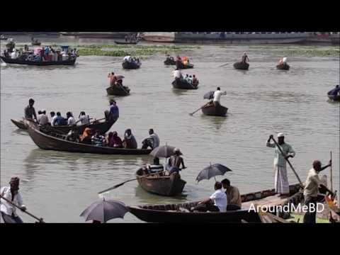 Sadar Ghat | Buri Ganga River | Beautiful Boat | Beauty of River Dhaka Bangladesh