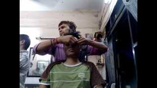 Indian Barber Experience 3: Head Massage
