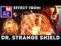 Shield Effect from Doctor Strange - Dr Strange movie - Magic Shield: After Effects Tutorial