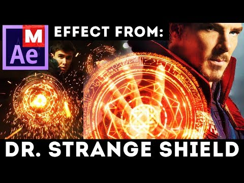 After Effects Tutorial: Shield Effect from Doctor Strange - Dr Strange movie - Magic Shield