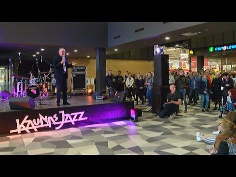 Kauno džiazo festivalis prasidėjo autobusų stotyje