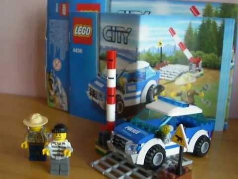 Lego City Forest Police 2012 Set Patrol Car Youtube