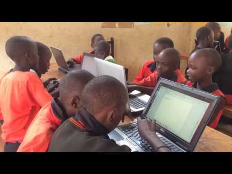 Teaching Computers in Uganda
