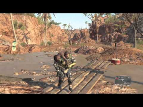 Metal Gear Solid V: Phantom Pain - Rescue Child Soldiers