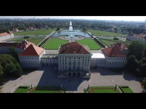 Schloss Nymphenburg & Ludwigsburg, Germany DJI Phantom 3 Pro 4K HD (Writing's On The Wall by Taps)