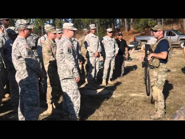 The U.S. Army Asymmetric Warfare Group provides instruction on Adaptive Soldier Leader Training and Education principles to the 3-353rd Armored Battalion at Fort Polk, LA.