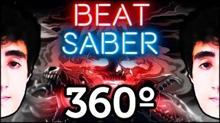 felps girando e fritando com overkill     beat saber 360º