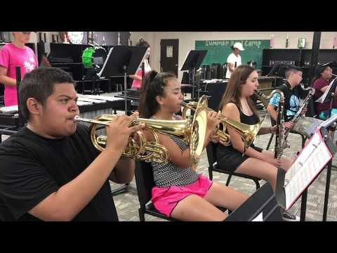 Bloomington High School band camp