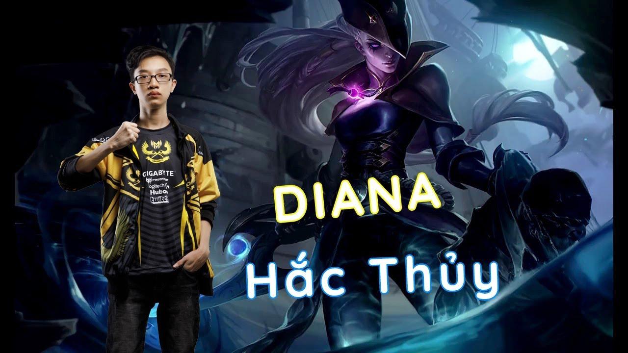 Diana của Blazes làm ảo thuật đối thủ bốc hơi - anh Mạnh An bình luận [GAM Esports Highlight]