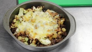 Ground Beef Cabbage Cheese Casserole : Ground Beef Recipes