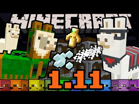 Minecraft 1.11 Snapshot: Llamas, Illagers, Evoker Totem, Vex, Shulker Box, Woodland Mansion 16w39a