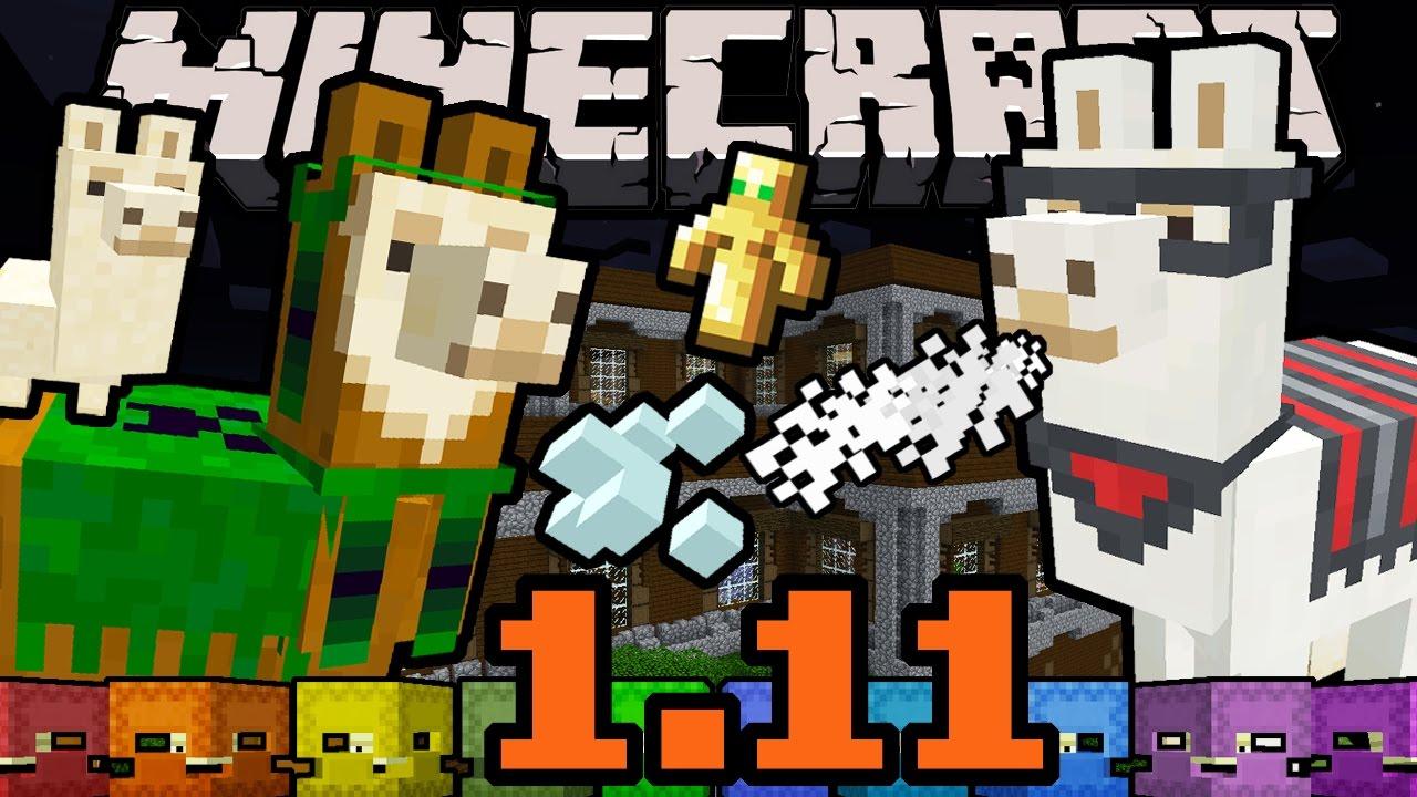 Minecraft 12.1212 Snapshot: Llamas, Illagers, Evoker Totem, Vex, Shulker Box,  Woodland Mansion 126w12a