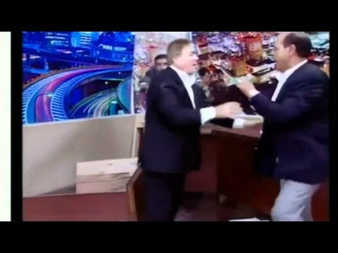 Flashback: Jordanian Parliament Member Pulls Gun During TV Interview
