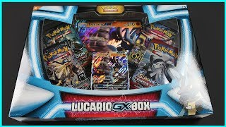 HYPER RARE PULL FROM FIRST PACK! Pokemon Lucario GX Box Opening!