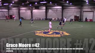 Grace Moore Soccer Highlight Video
