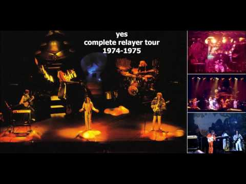 YES - COMPLETE RELAYER TOUR 1974 -1975