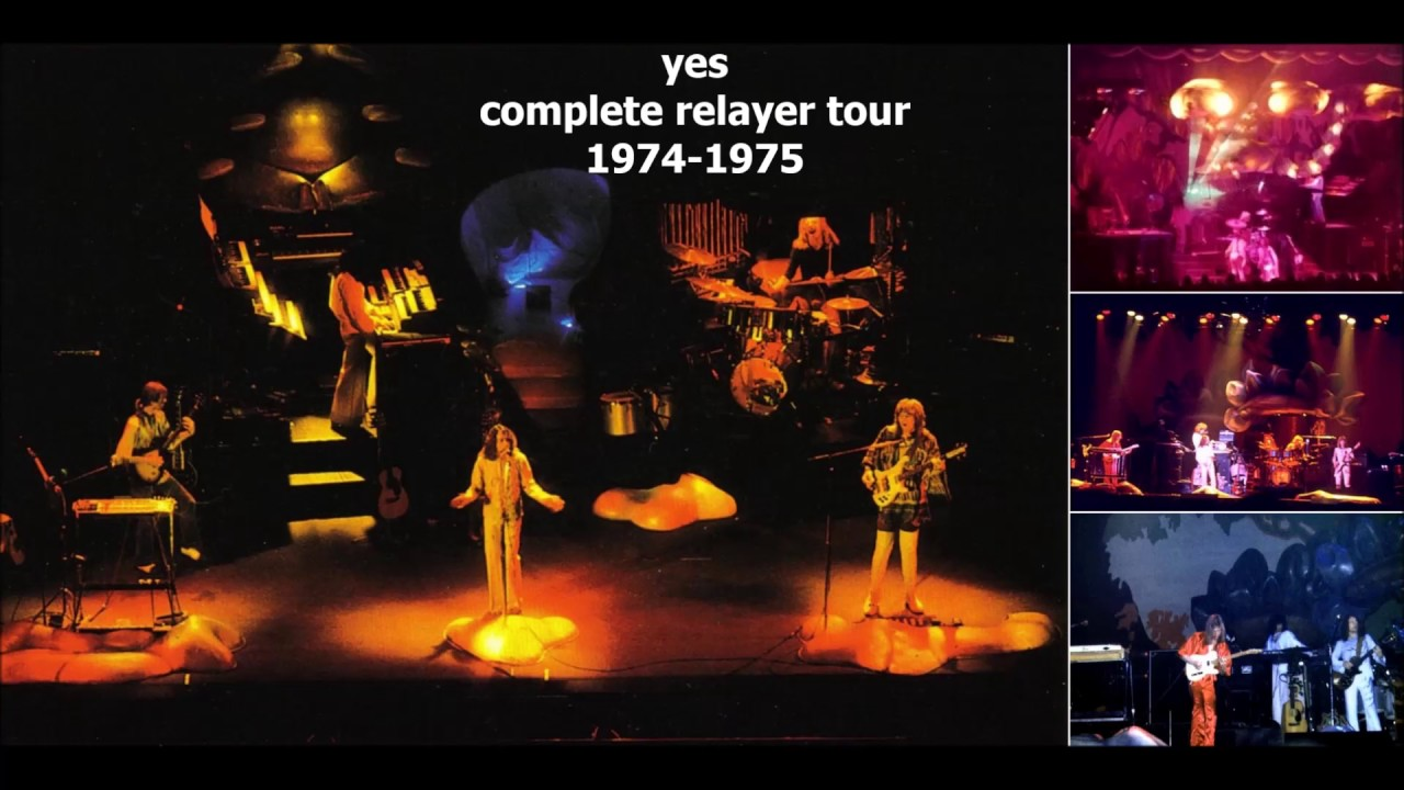 yes complete relayer tour 1974 1975 youtube