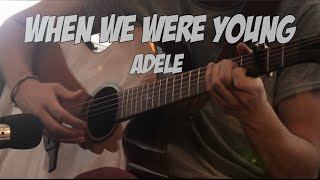 Adele - When We Were Young - Fingerstyle Guitar (Dax Andreas)