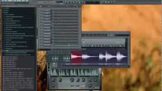 fl studio 10 deep house construction part 1