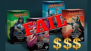 Why I still DO NOT like Challenger Decks   MTG's most deceptive product!