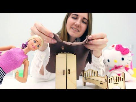 Игры с #Барби и Хелло Китти. Уменьшаем мебель! Видео для девочек про игрушки: Академия Волшебства