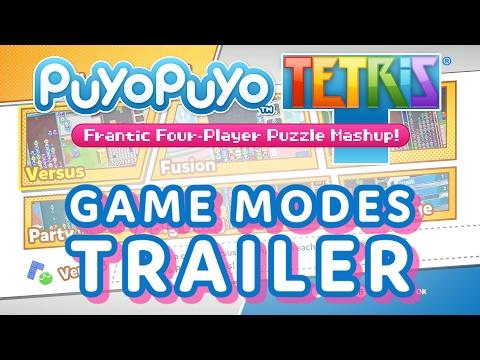 The Colorfully Crazy Game Modes of Puyo Puyo Tetris