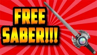 HOW TO GET A FREE ELEGANT SABER!!! (ROBLOX ASSASSIN)