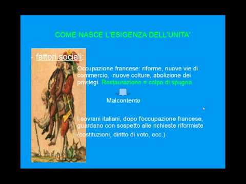 Unità d'Italia - seconda parte