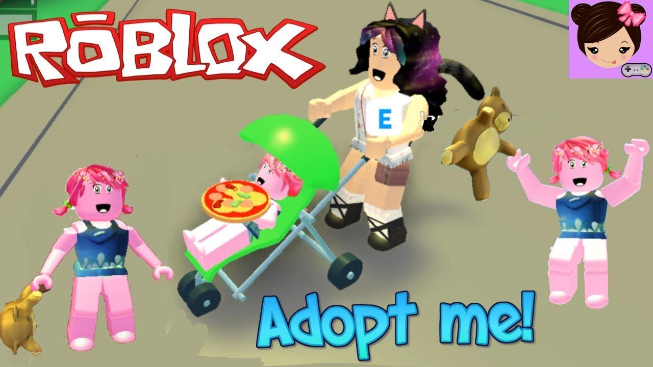 Soy Una Bebe Troll En Roblox Adopt Me Roleplay Titi Juegos Youtube