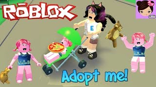 I am a Troll baby in Roblox - Adopt me! Roleplay games Titi