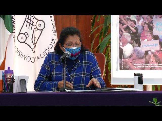 Discurso de Presidenta de la CDHCM, en la Presentación de Ciudad Defensora