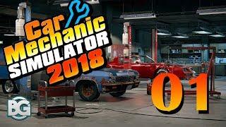 [CZ] Car Mechanic Simulator 2018 - #1 Rozjíždíme firmu