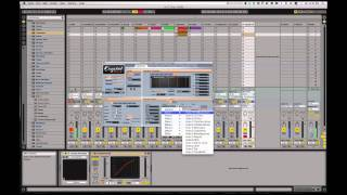 Erstellen moduliert (drum ' n ' bass & dubstep-Stil), bass w/ Free-Crystal-synth VST-Plugin innerhalb ableton