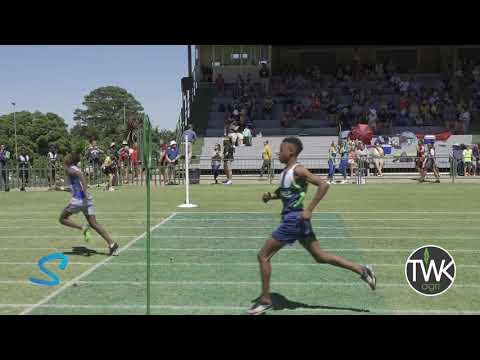 TWK Agri Highveld Inter High Athletics '20 – Hurdles Boys