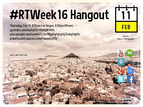Responsible Travel Week Thursday Hangout #rtweek16
