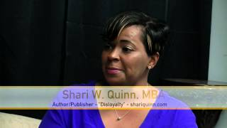Scene TV - Shari Quinn - Author;