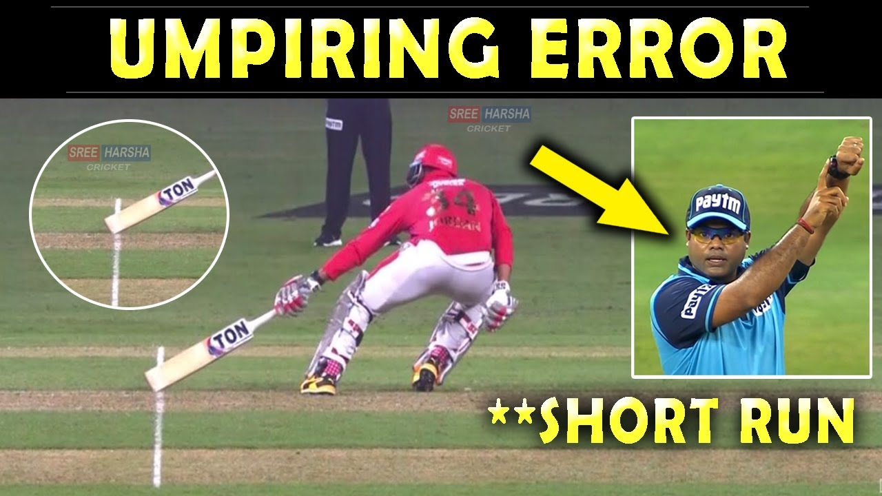 IPL 2020 : Umpiring Error in DC vs KXIP match | Short Run controversy Explained | Super Over