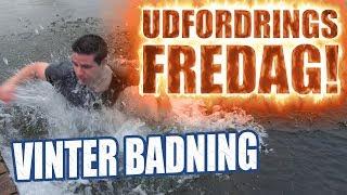 Udfordrings-fredag - Vinter badning