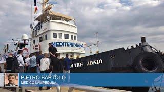 Migranti sulla Mare Jonio, il medico a Salvini.